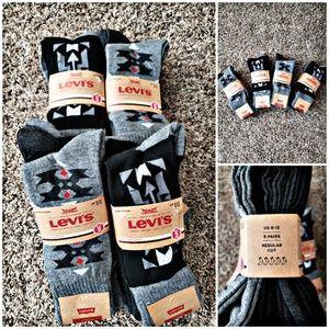 Men's Levi's Socks 5 pair pack